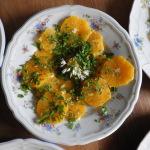 Salziger Orangensalat