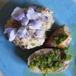 Filet mit Tannschösslisalz und Dinkelpolenta